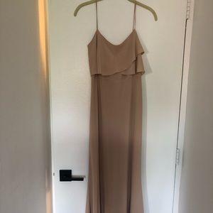 Jenny Yoo size 2 chai bridesmaids dress